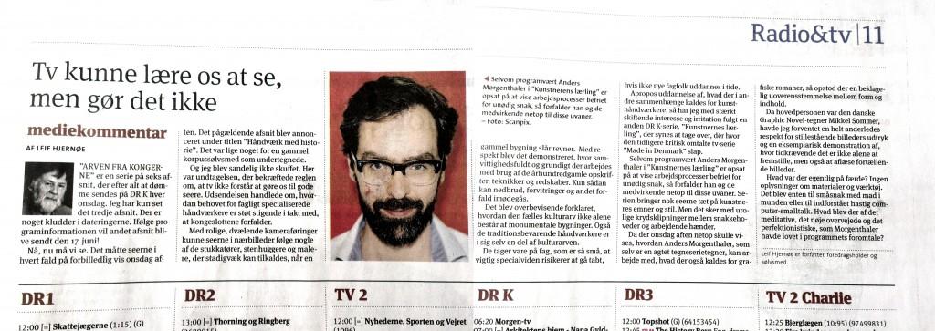 Anmeldelse i Kristeligt Dagblad